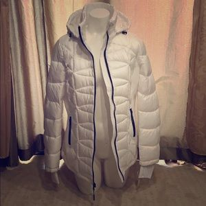 Michael Kors Fitted Puffy Jacket